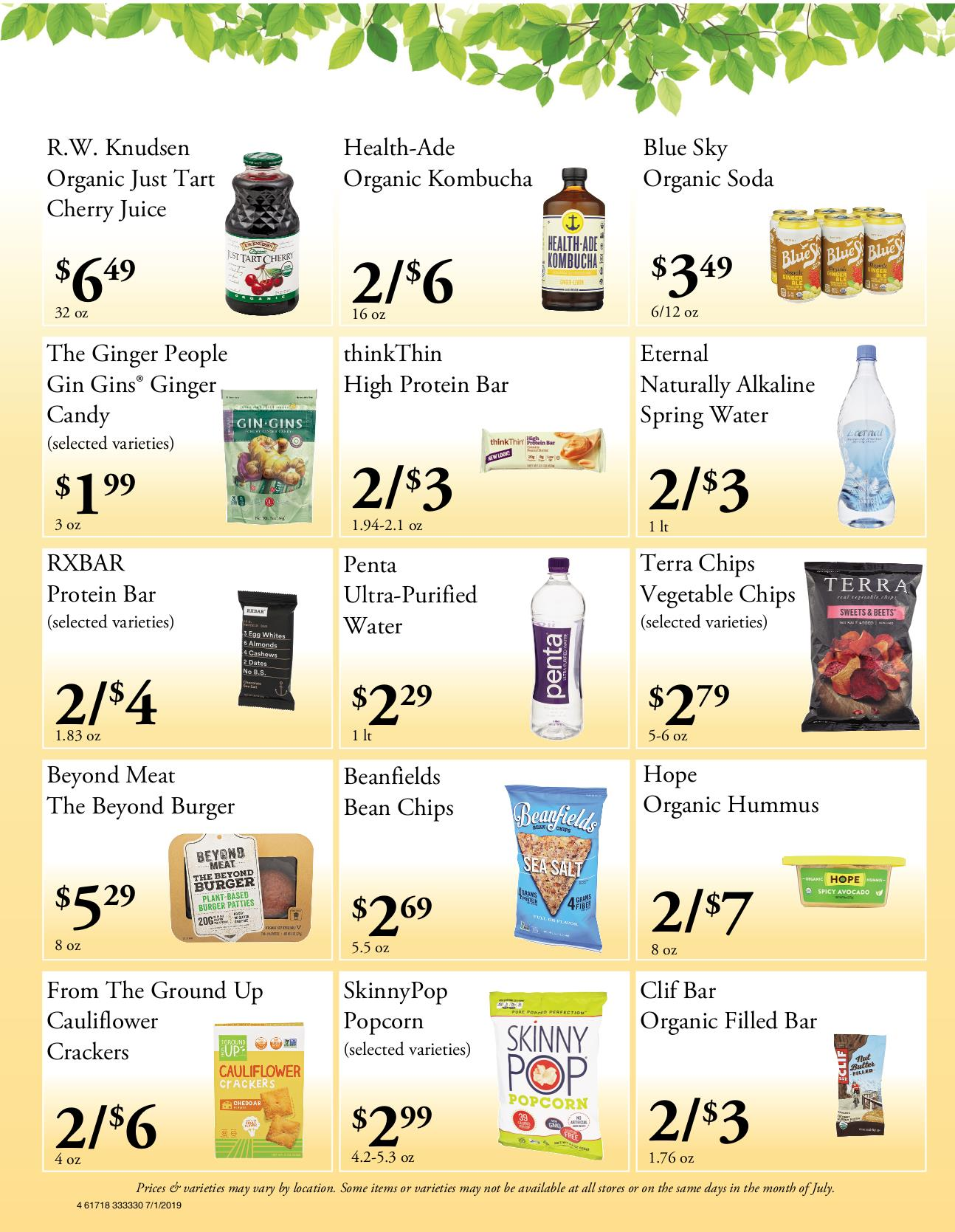 Nature's Pick Market Flyer Pg 4
