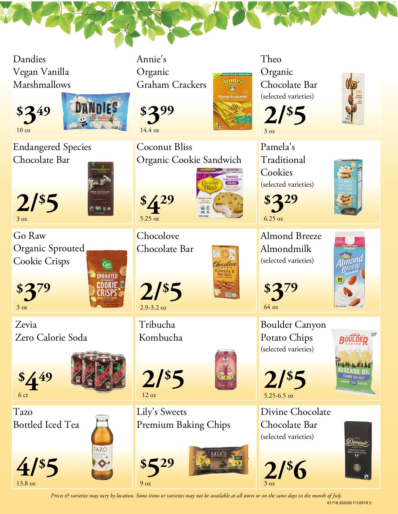 Nature's Pick Market Flyer Pg 5