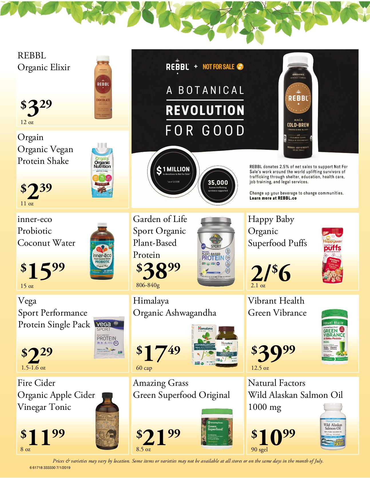 Nature's Pick Market Flyer Pg 6