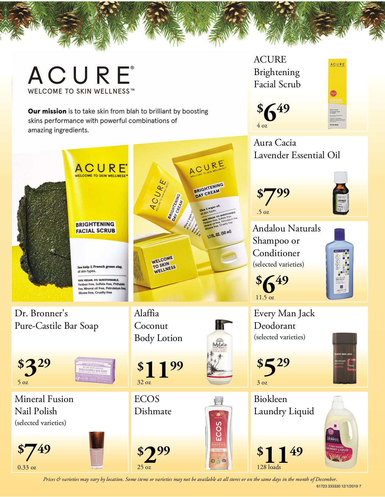 nature's pick flyer pg 7