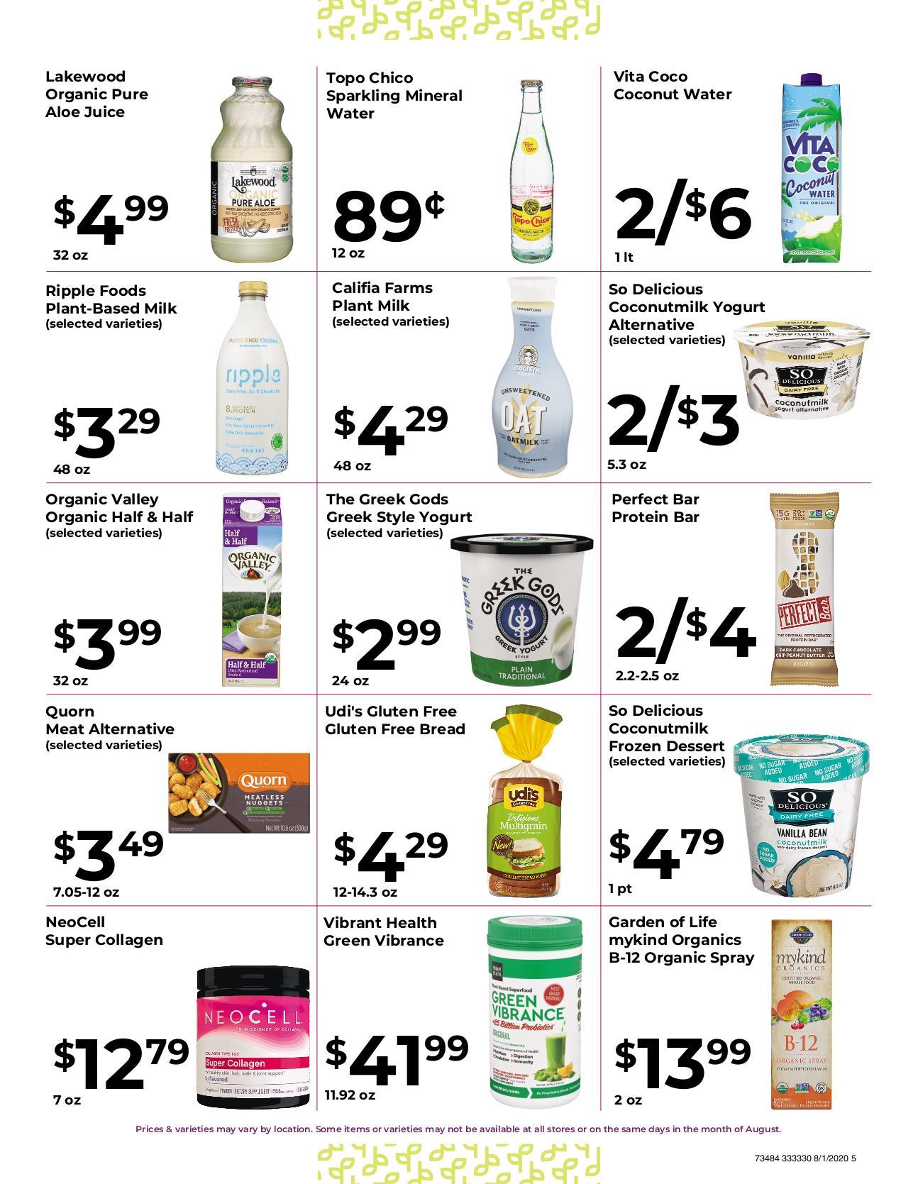Nature's Pick Market Sale Aug 2020 - 5