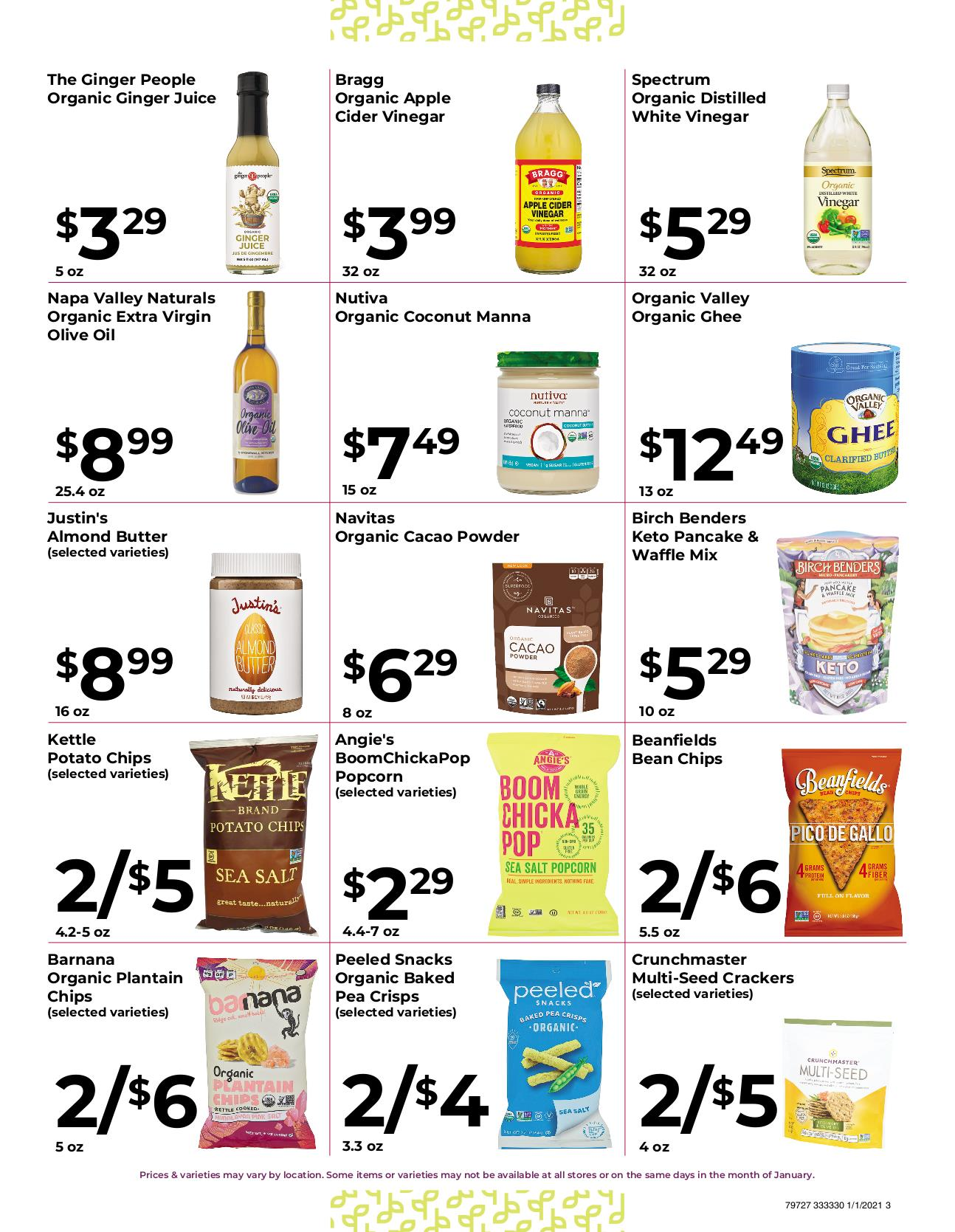 Nature's Pick Market Jan 2021 Sale Page 3