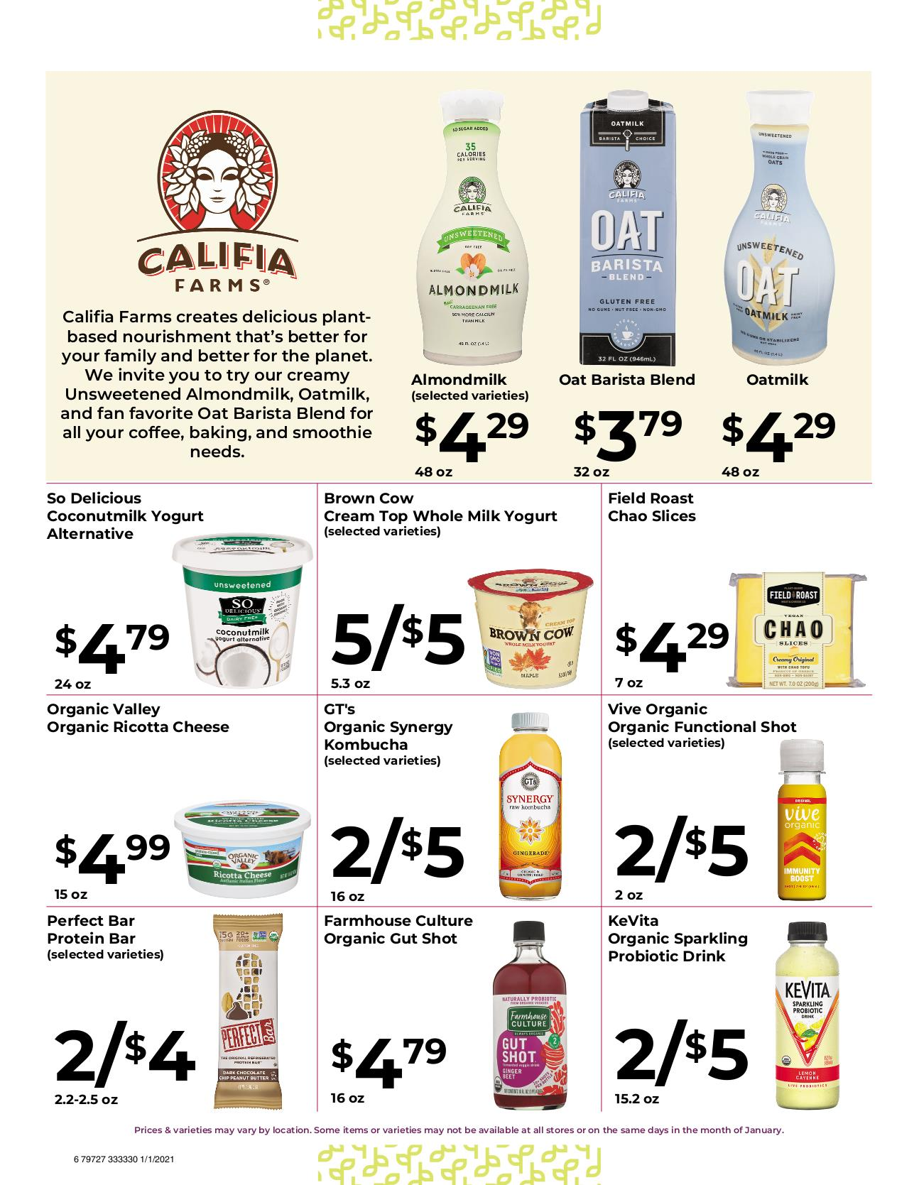 Nature's Pick Market Jan 2021 Sale Page 6
