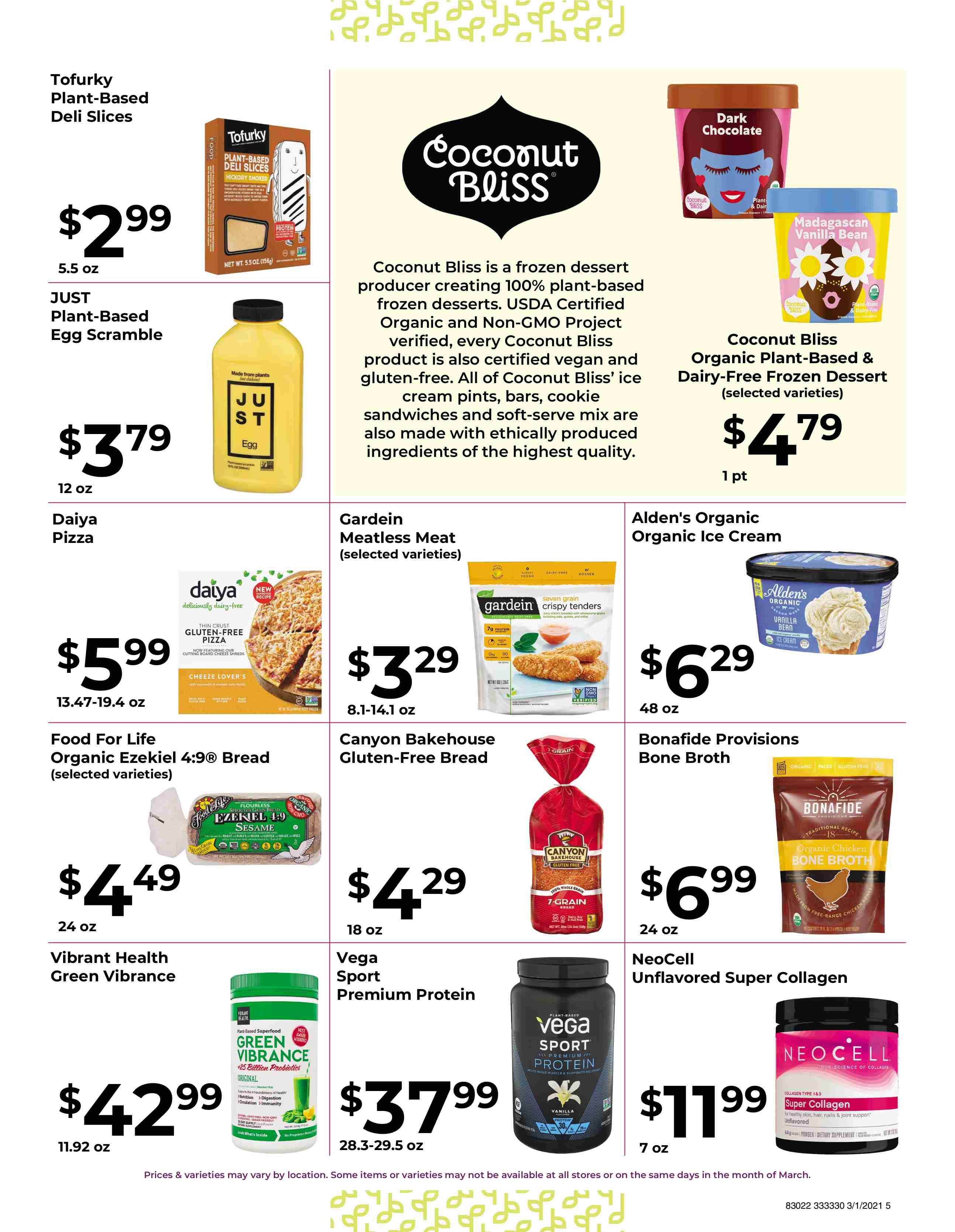 Nature's Pick Market Sale March 2021 - Pg 5
