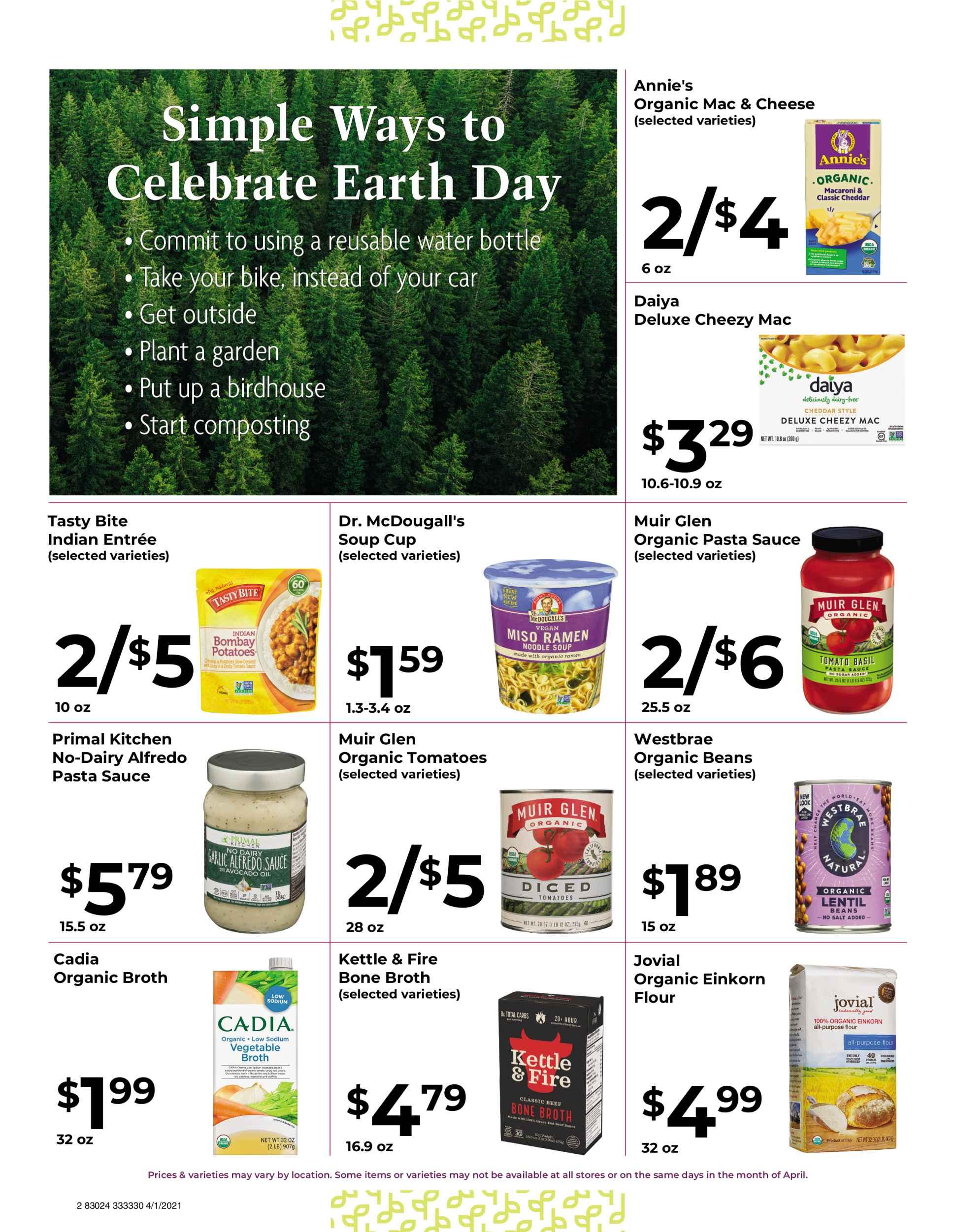 Nature's Pick Market Sale April 2021 page 2