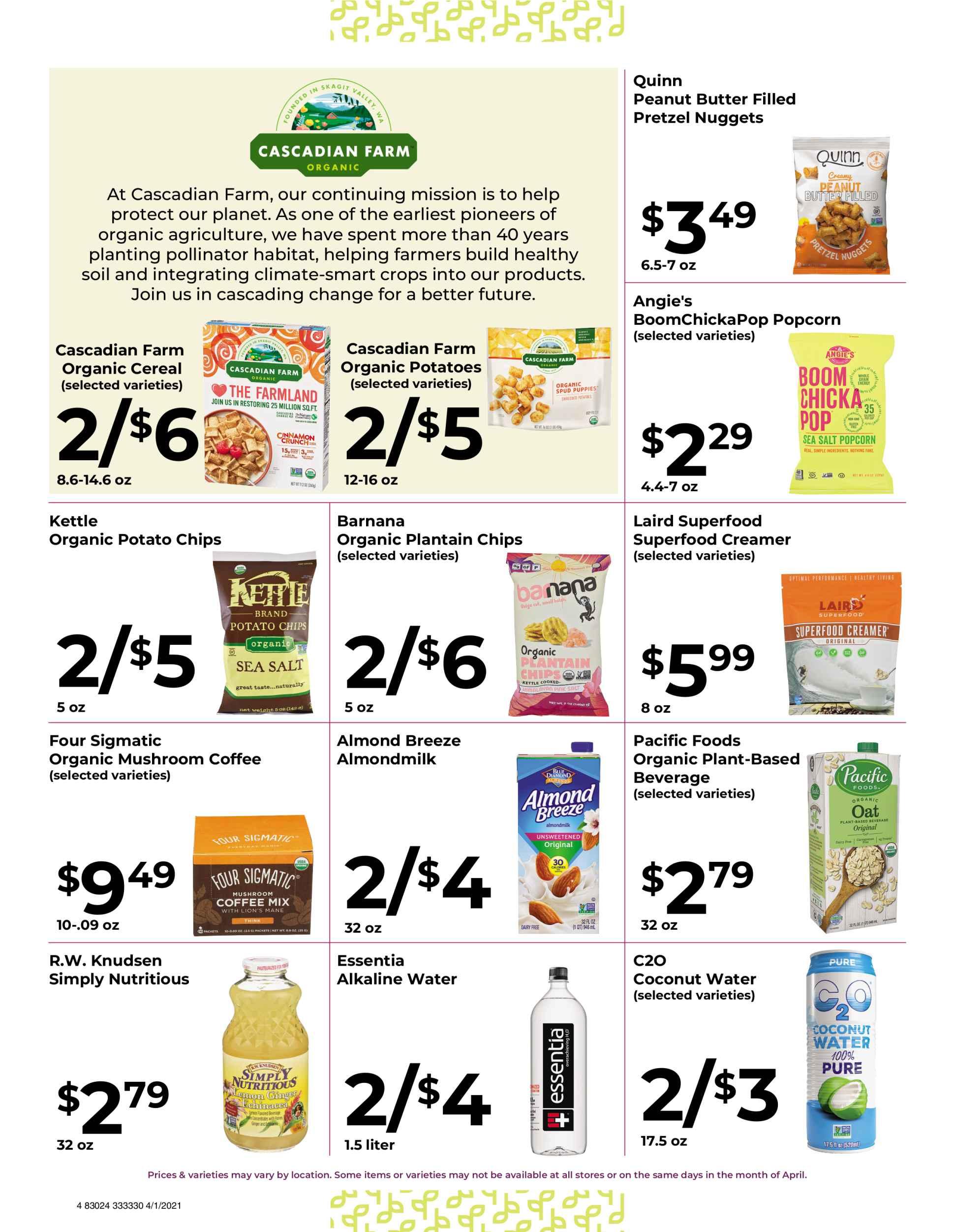 Nature's Pick Market Sale April 2021 page 4