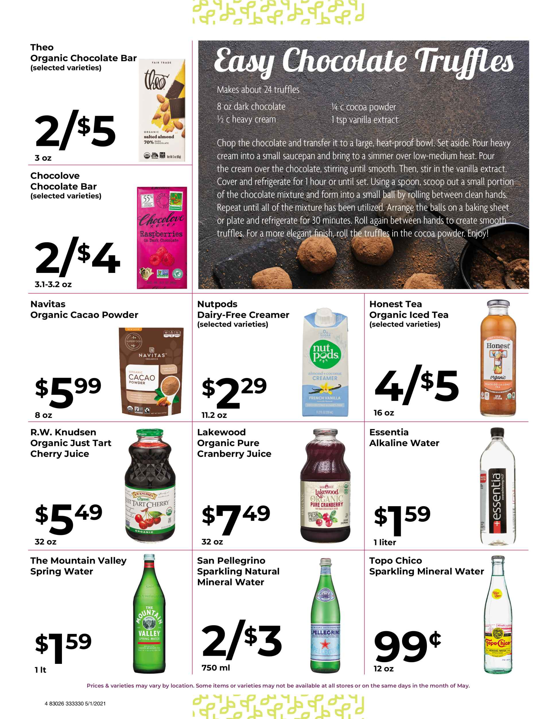 Nature's Pick Market Sale May 2021 Flyer Page 4