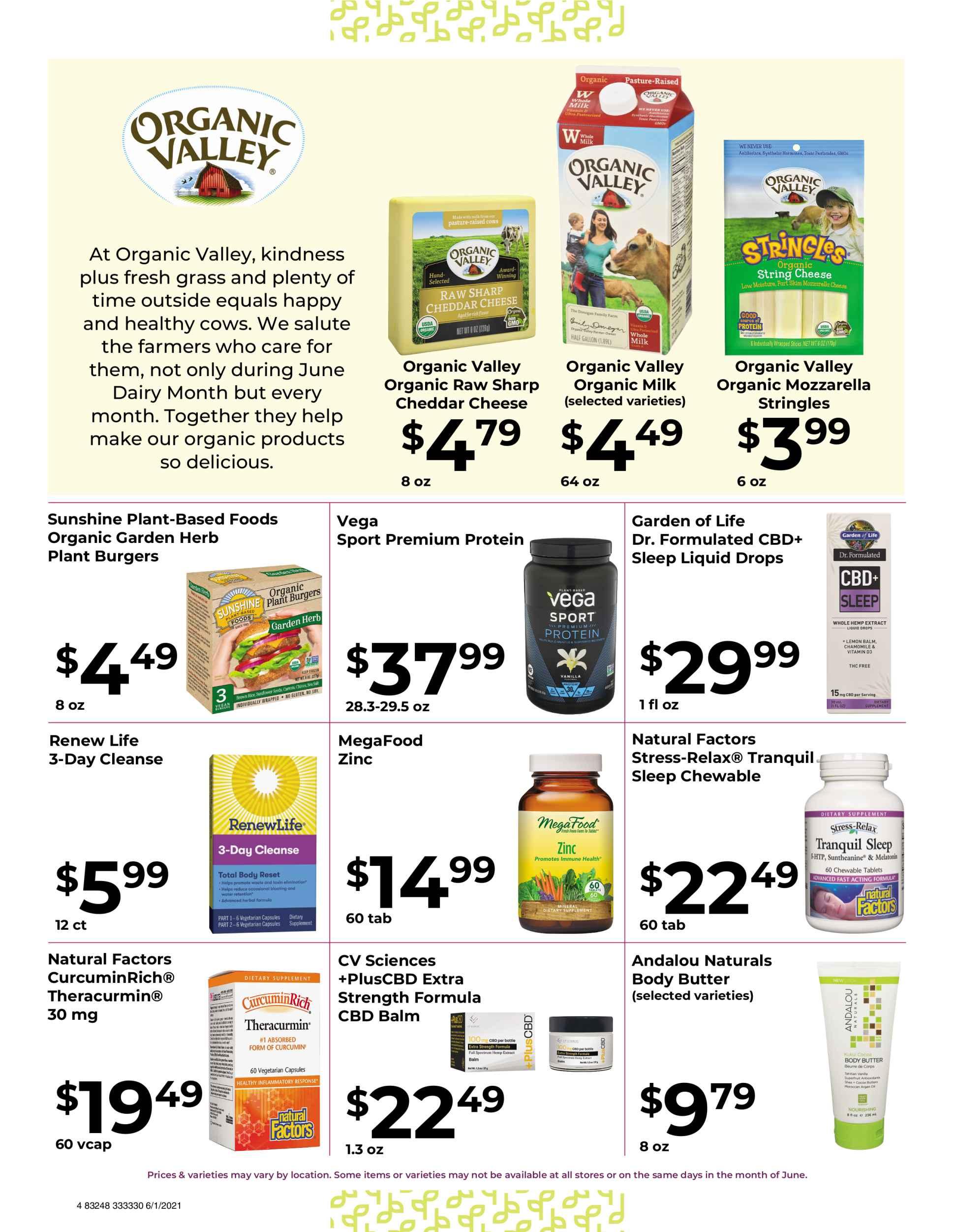 Nature's Pick Market Sale June 2021 Page 4
