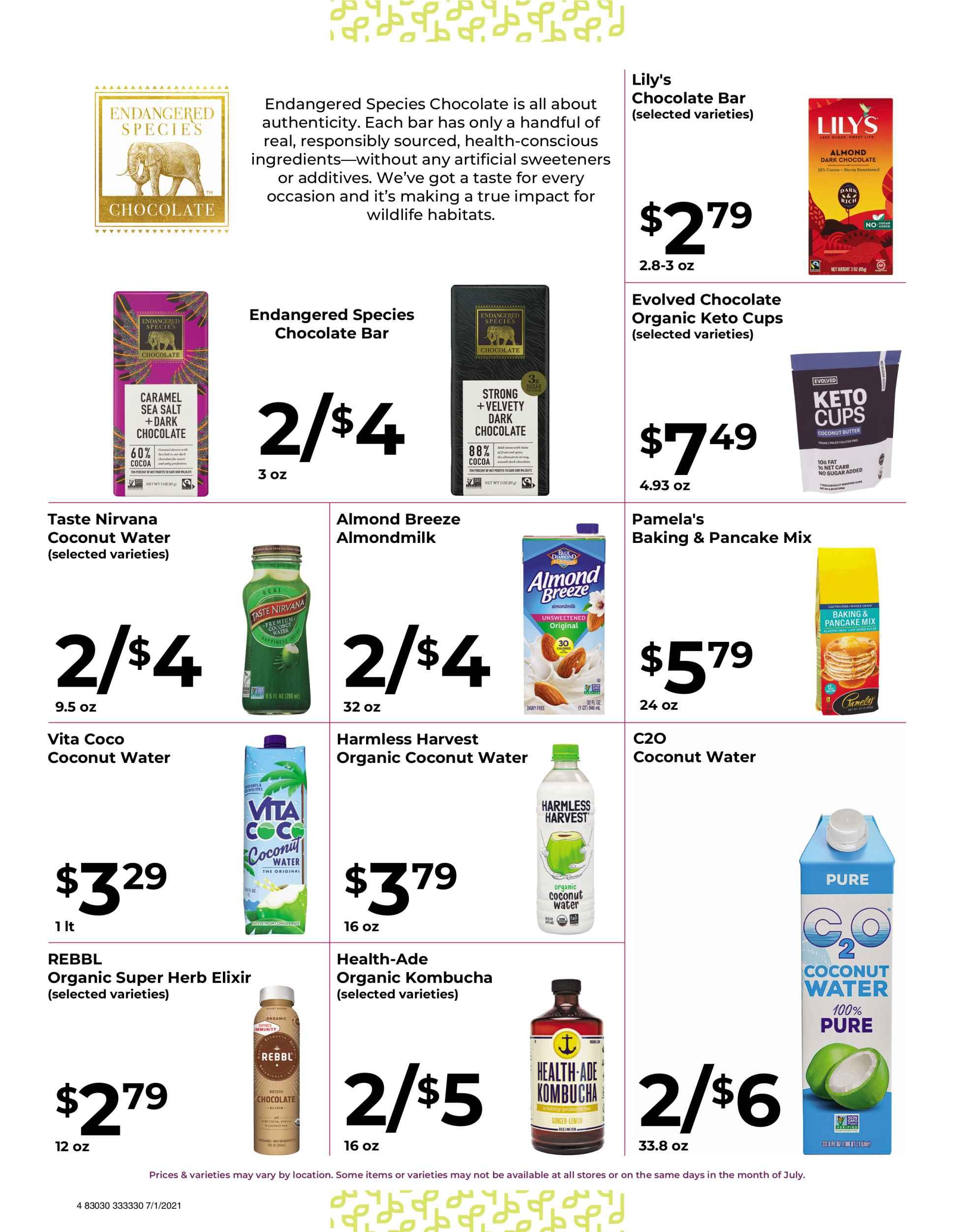 Nature's Pick Market Sale July 2021 Page 4