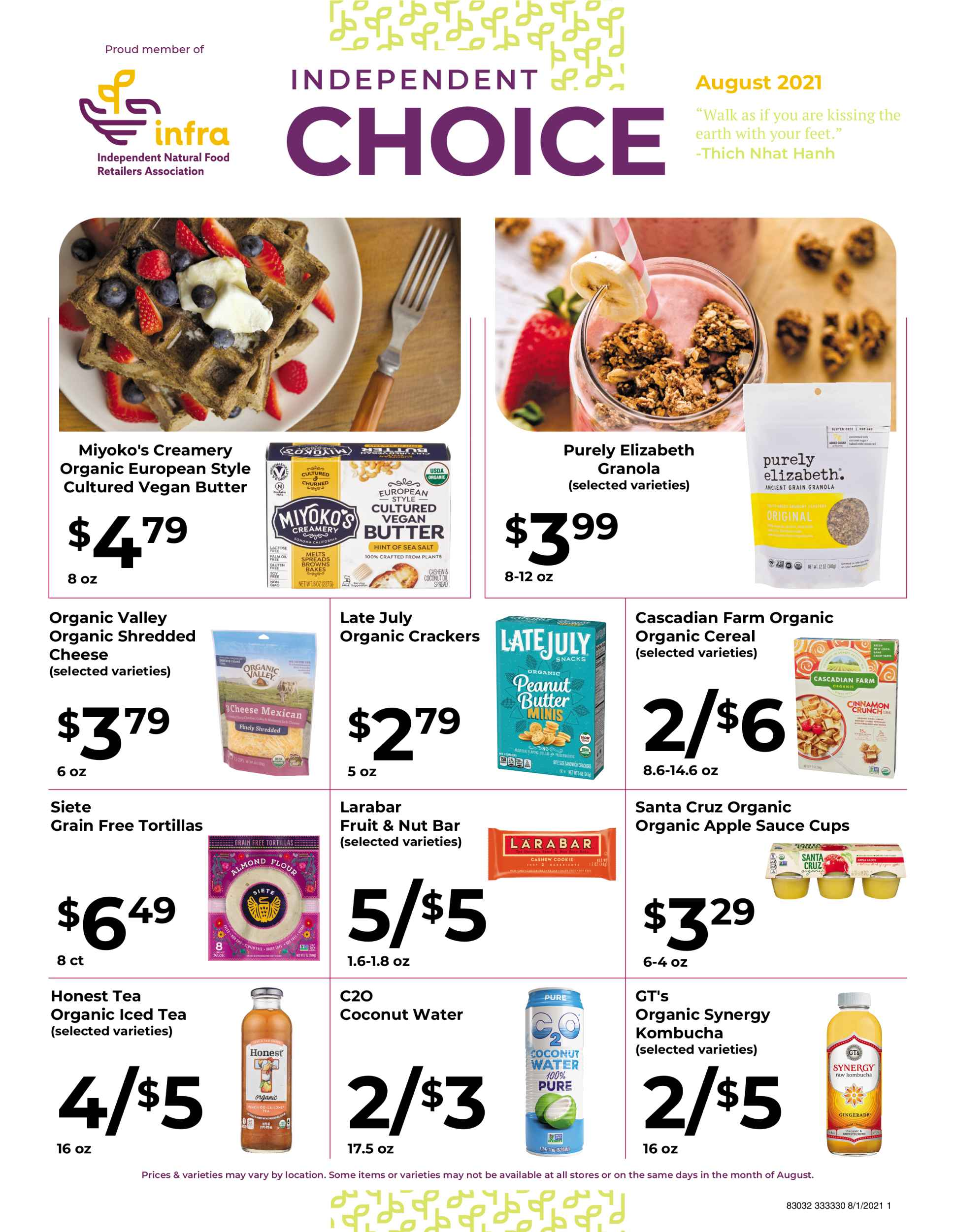 Natures pick market monthly sale page 1