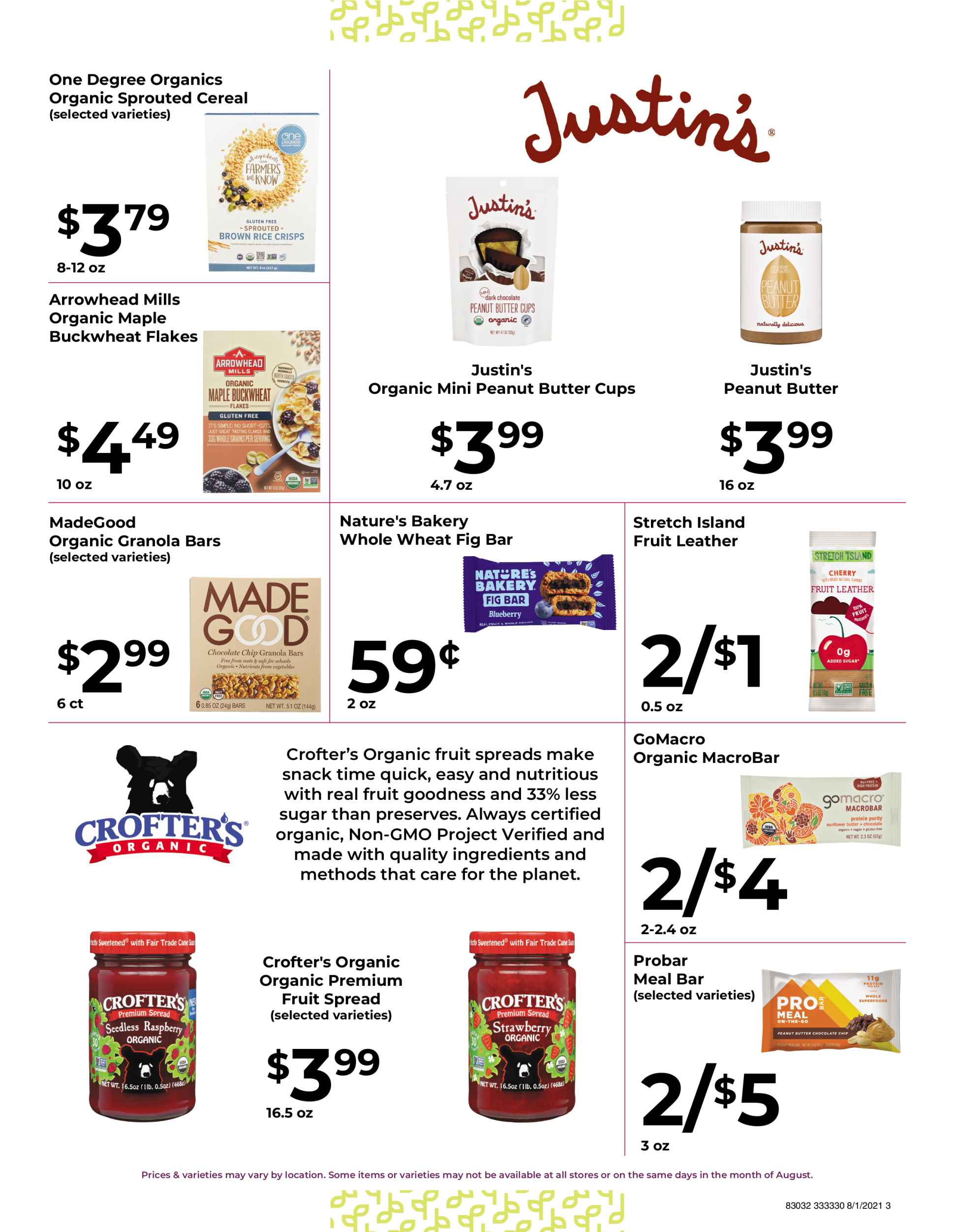 Natures pick market monthly sale page 3