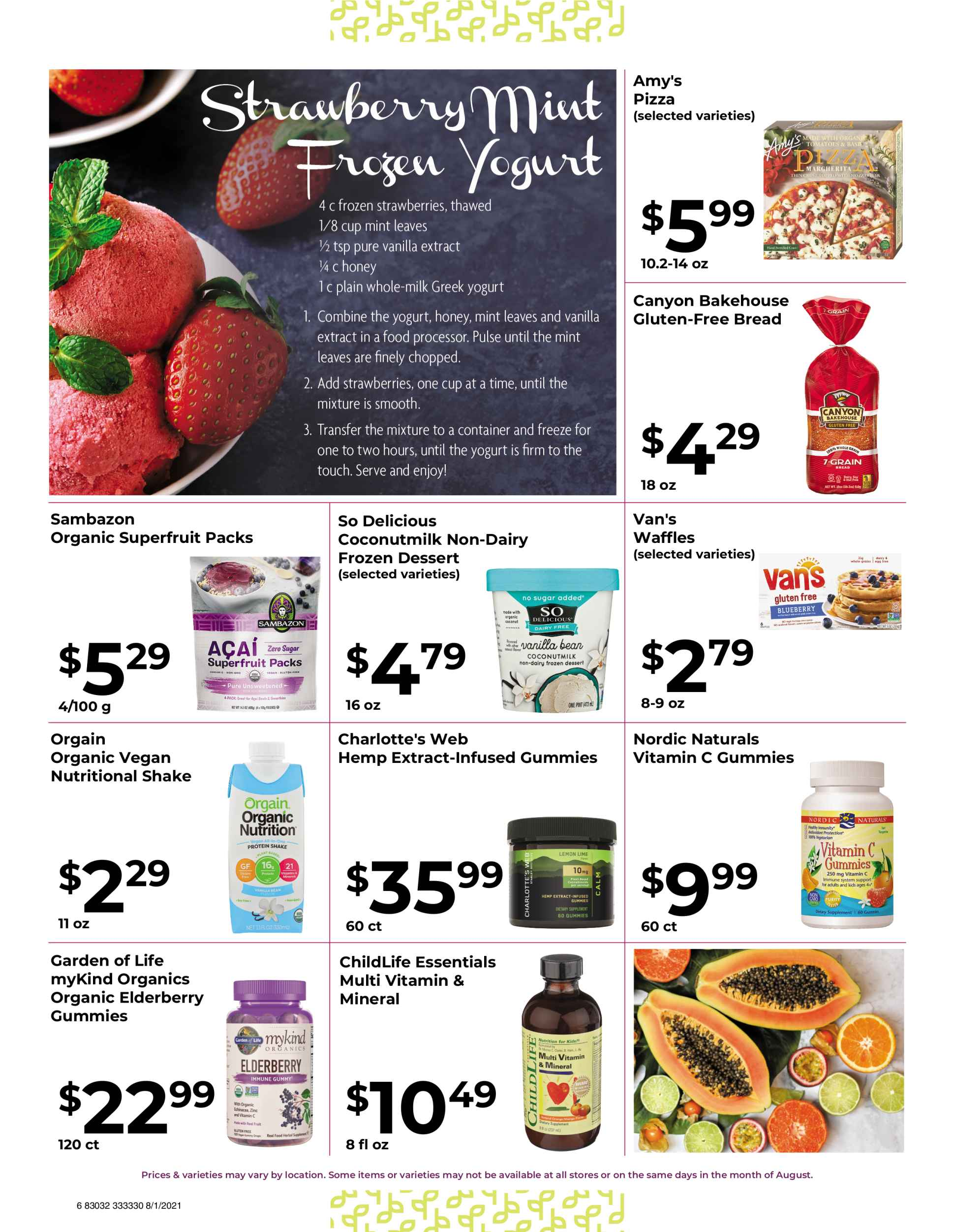 Natures pick market monthly sale page 6