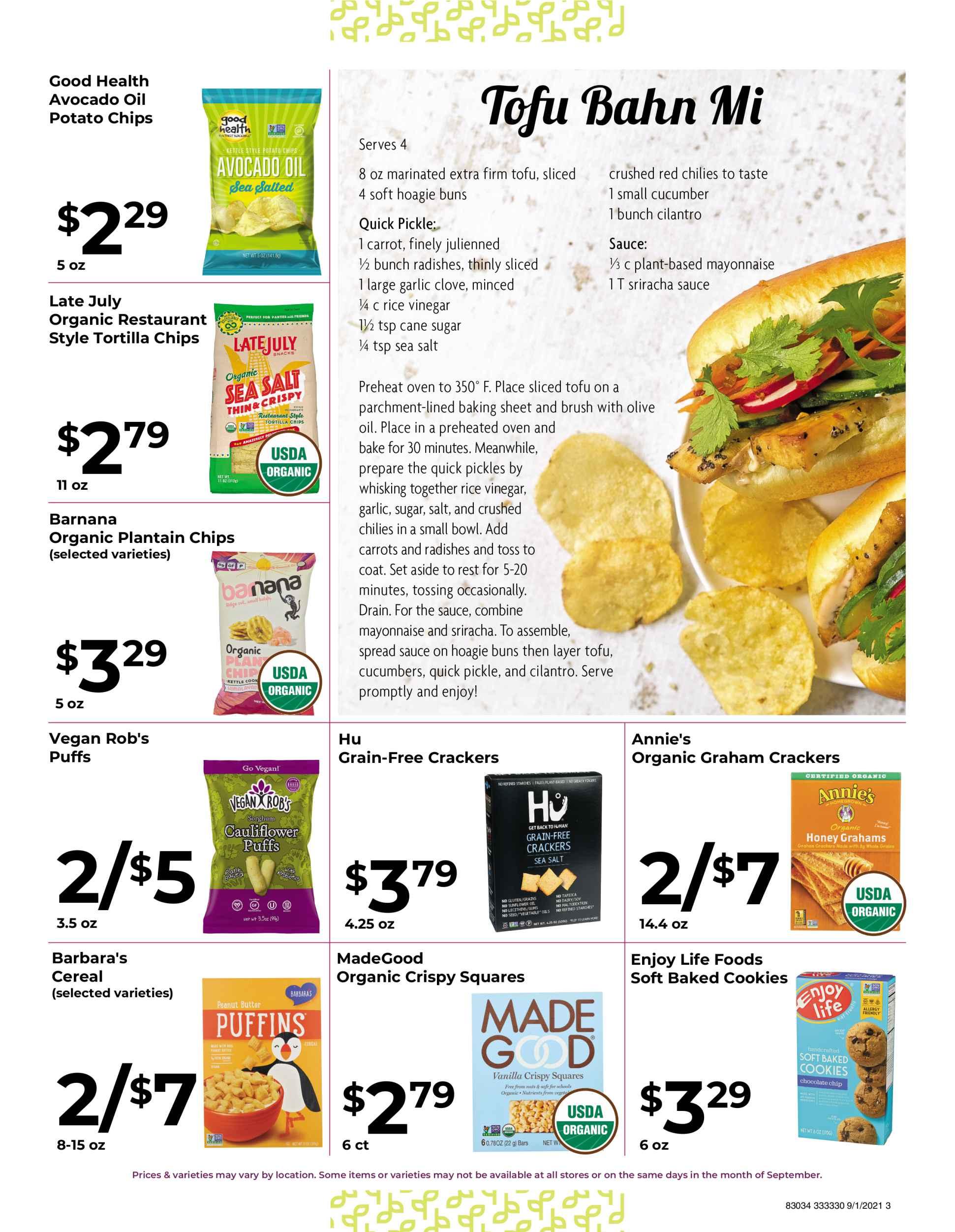 Nature's Pick Market September 2021 Sale Page 3
