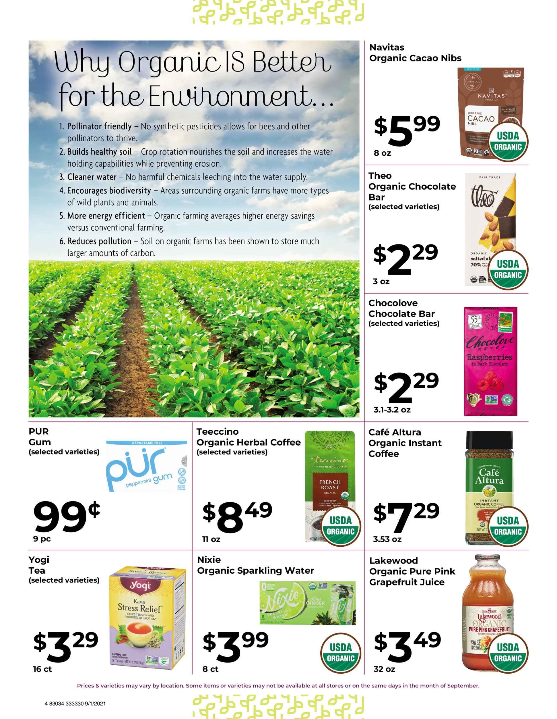 Nature's Pick Market September 2021 Sale Page 4