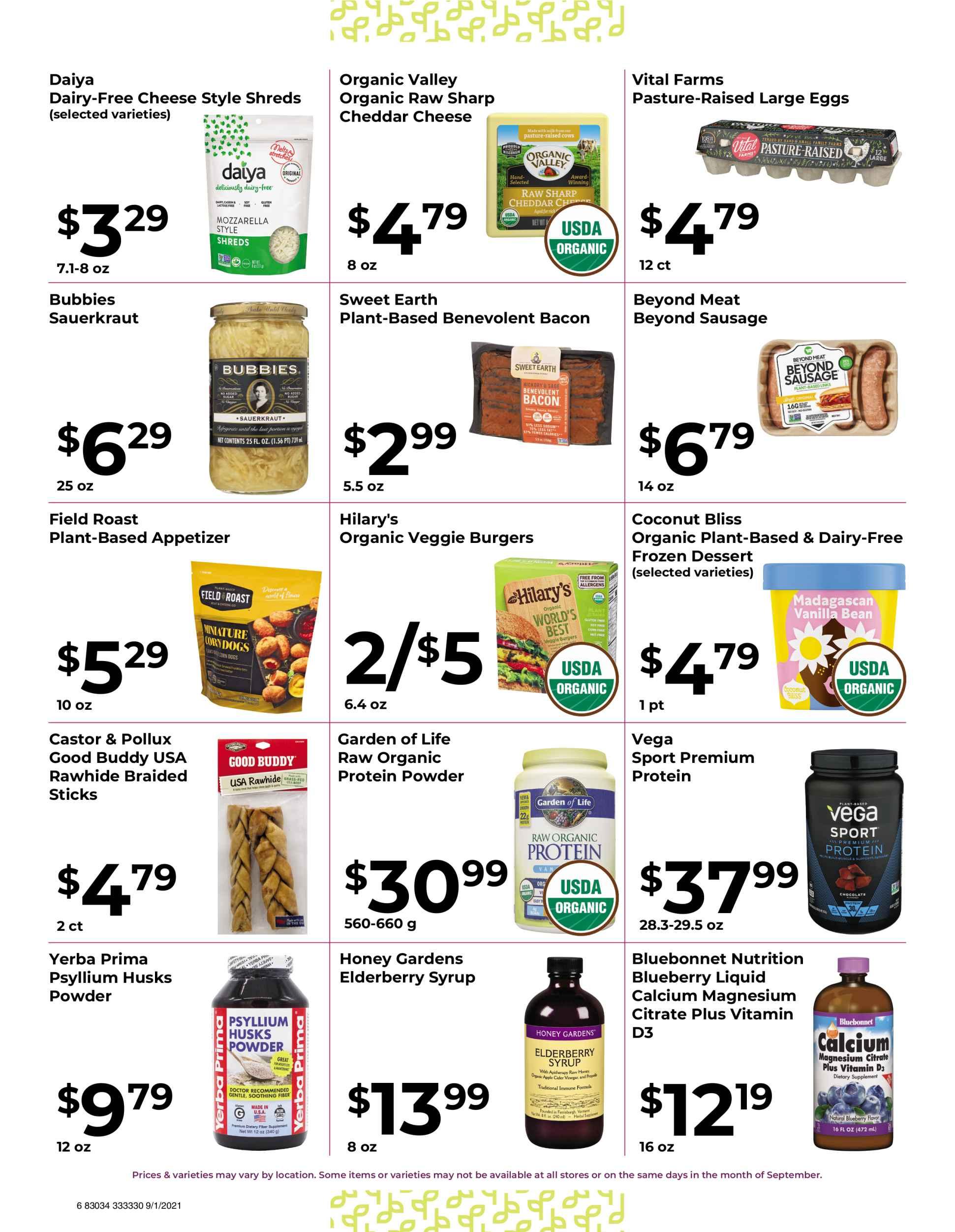 Nature's Pick Market September 2021 Sale Page 6