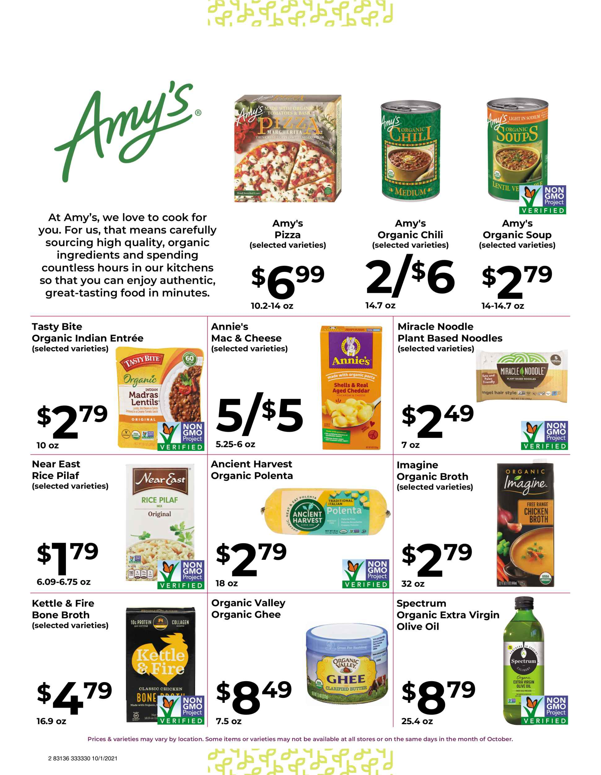 Natures Pick Market Monthly sale October 2021 page 2