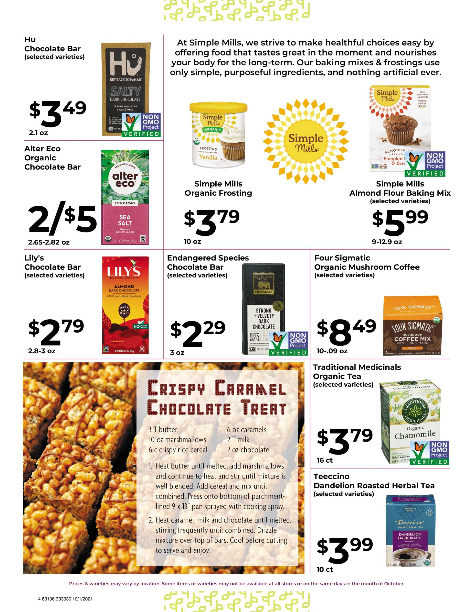 Natures Pick Market Monthly sale October 2021 page 4